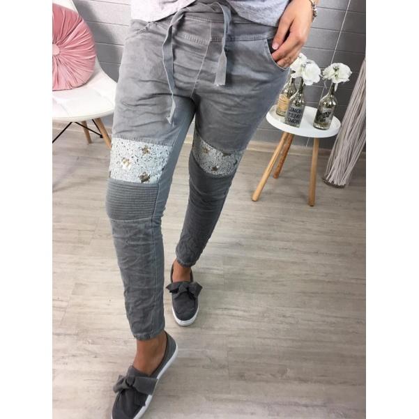 Luxusní kalhoty s hvězdama