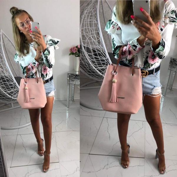 Růžová pink kabelka