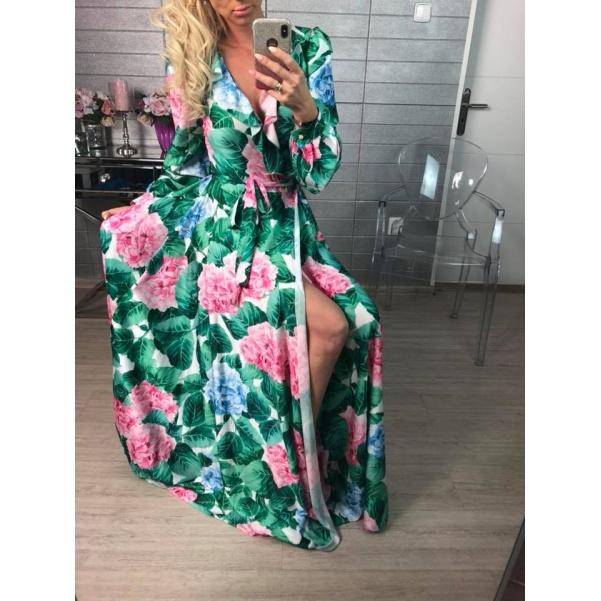 Luxusní šaty - Flowers