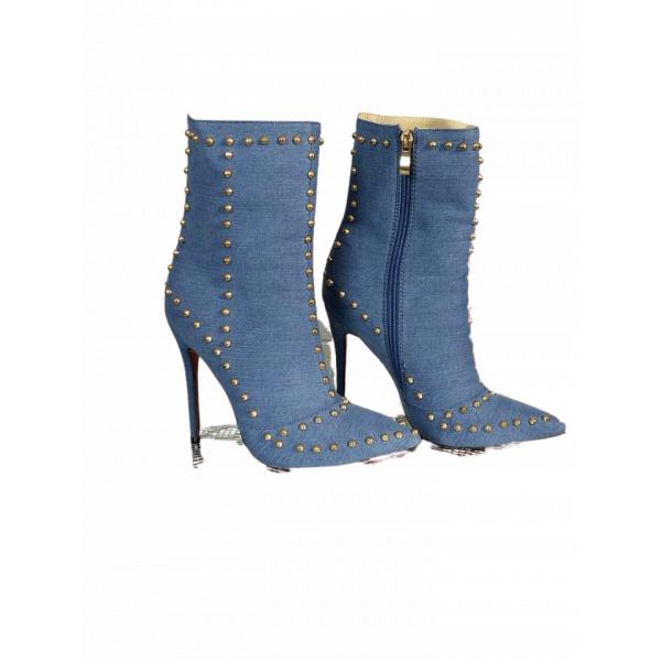 Luxusní Jeans botky