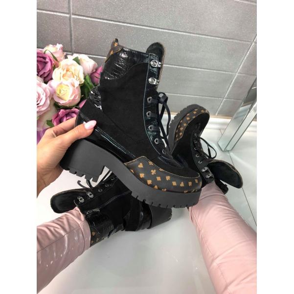 TOP kožené stylové boty