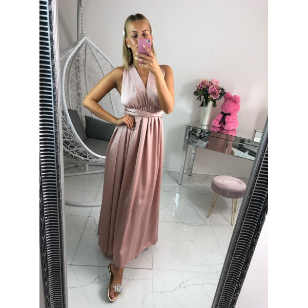 Nádherné šaty růžové