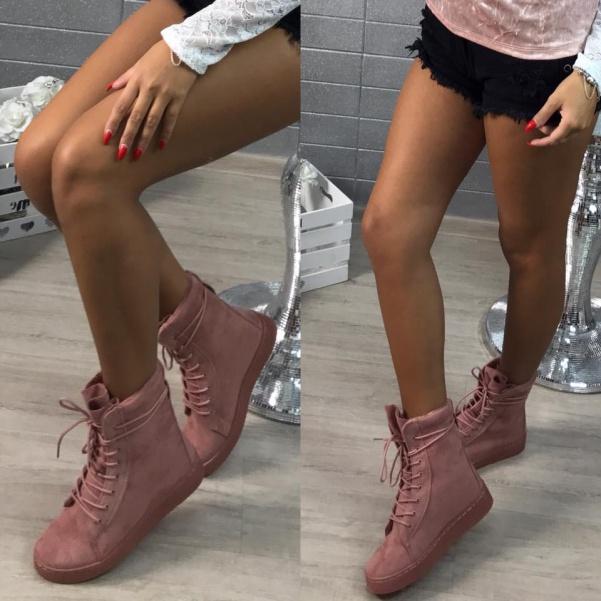 Růžové botičky super vyteplené