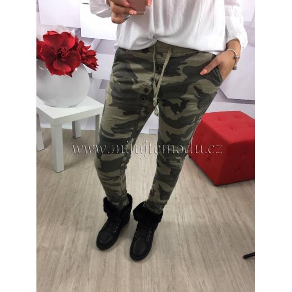 Army kalhoty - světlý odstín