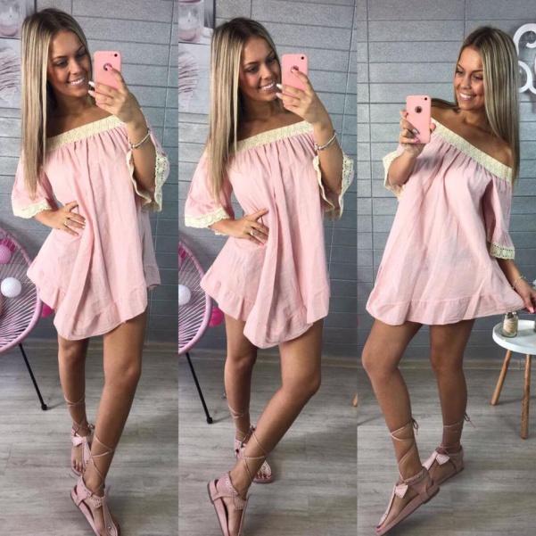 Pink tunikošatičky