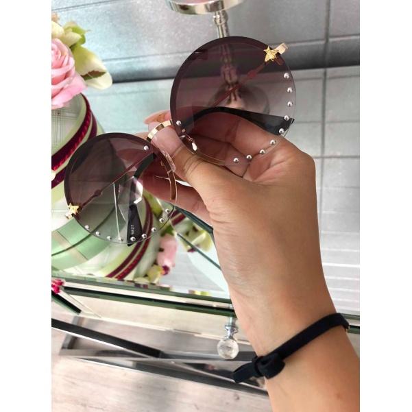 TOP kulaté brýle brown