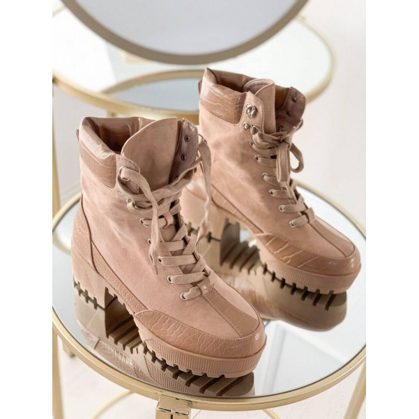 Stylové camel boty