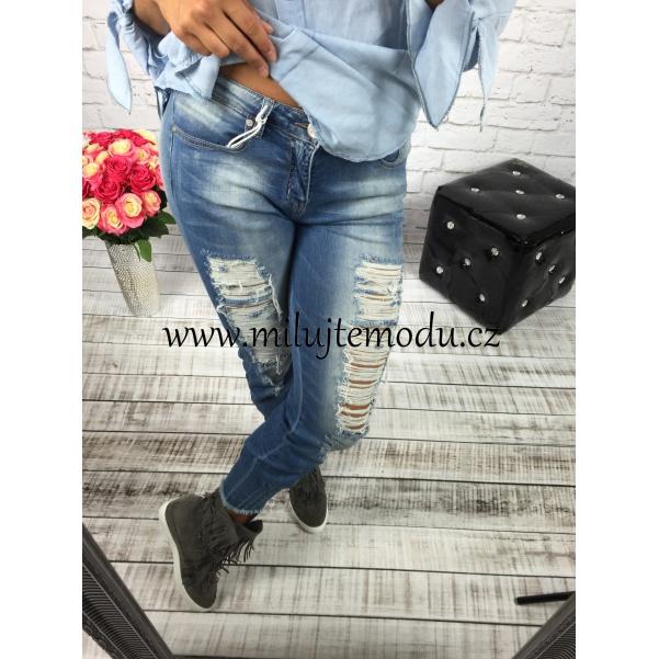 Trhané džíny