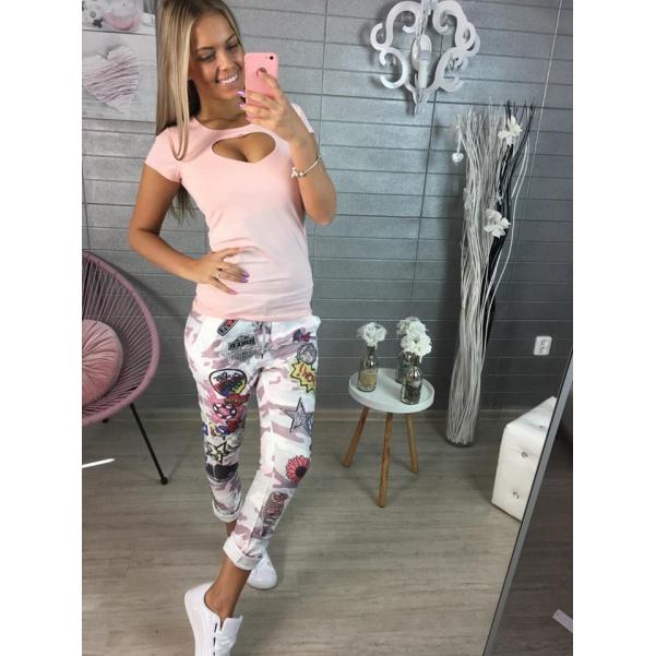 Pink army kalhoty s obrázky
