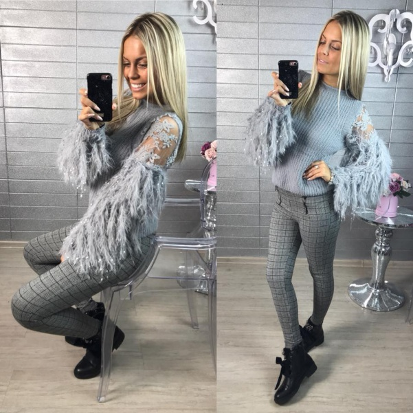Lux svetřík šedý