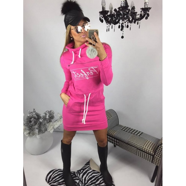 Pink šaty