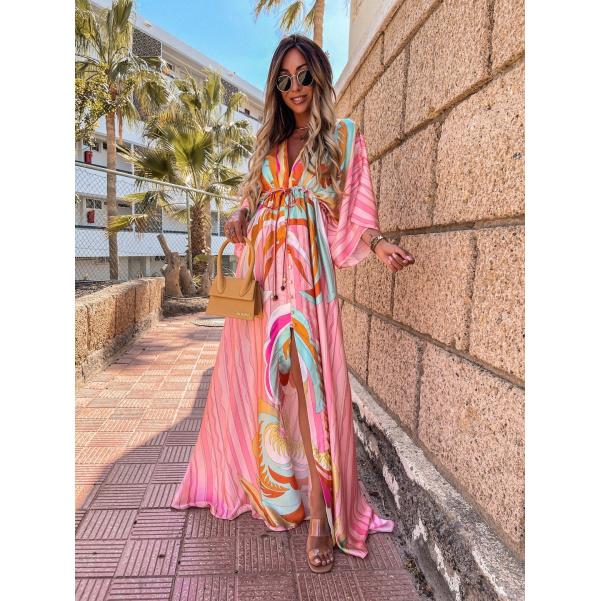 Maxi šaty RAINBOW