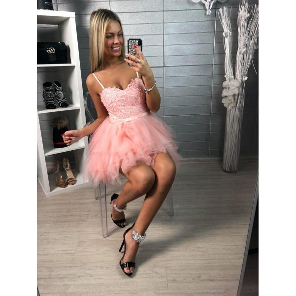 Šatičky Princess růžové