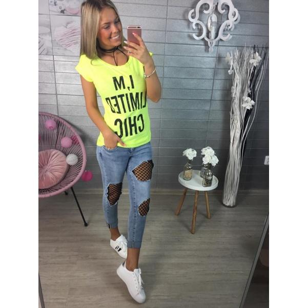 Žluté tričko CHIC