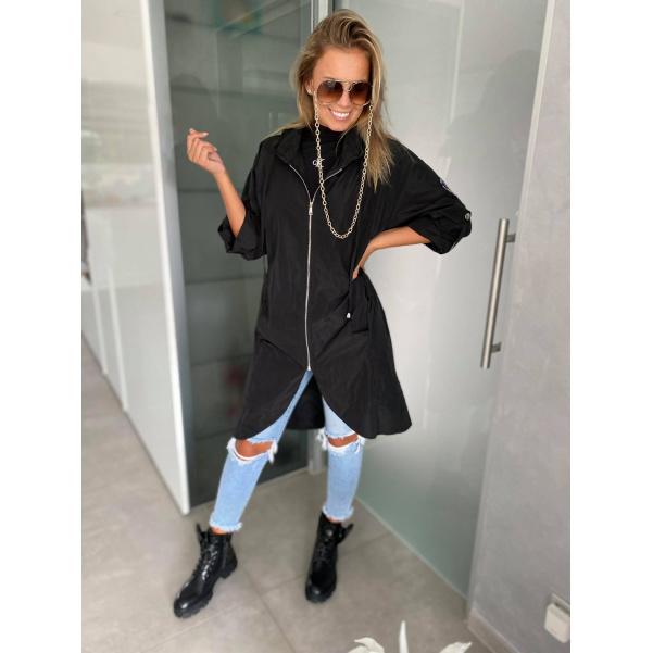 Lehká černá bunda