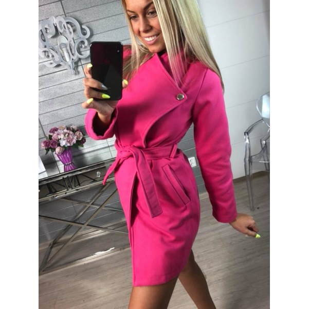 Kabátek Miley tm. růžový
